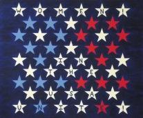 Kelly Burke_States of Being Series VIII Women In the USA Unite!_Oil_Disturbance